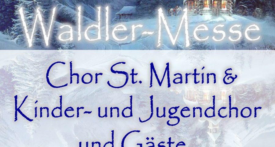 Alpenländische Weihnacht Chor St. Martin und Kinder- und Jugendchor Trochtelfingen