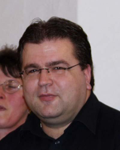 Chorleiter Anton Roggenstein