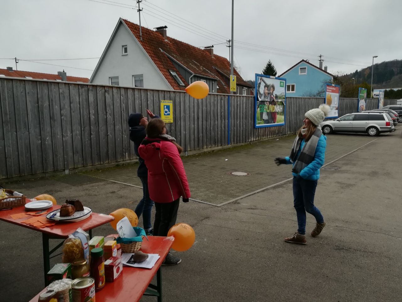Aktion Kilo Ministranten Trochtelfingen Luftballon