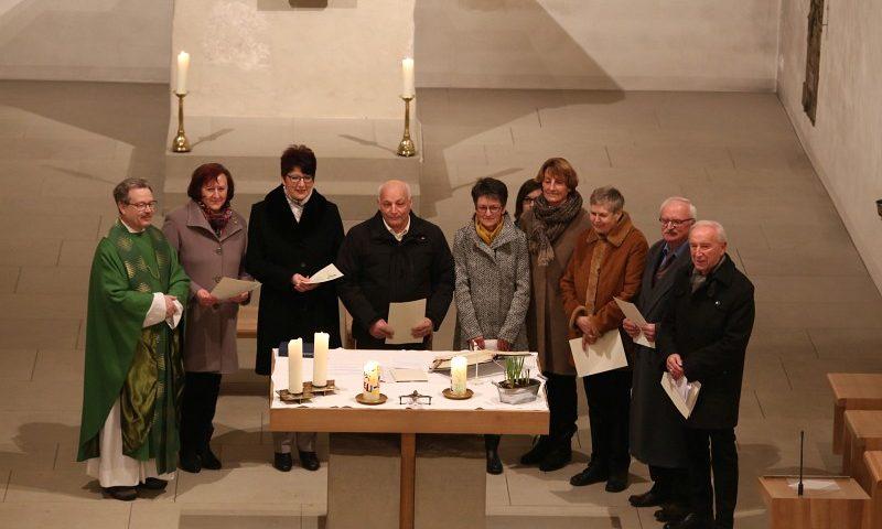 Jubilare des St. Martin Chors